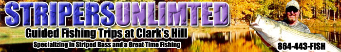 Stripers Unlimited, Inc - Fishing Guide Service on Clark Hill